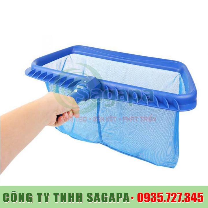 Vợt rác vệ sinh hồ bơi
