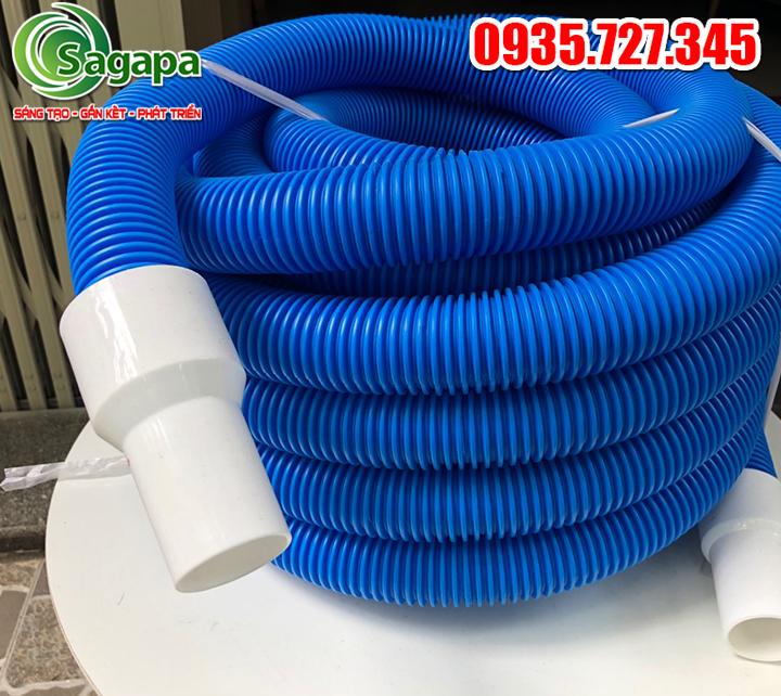 Ống ruột gà vệ sinh hồ bơi loại mềm 2 lớp 30M – PI38-2-1
