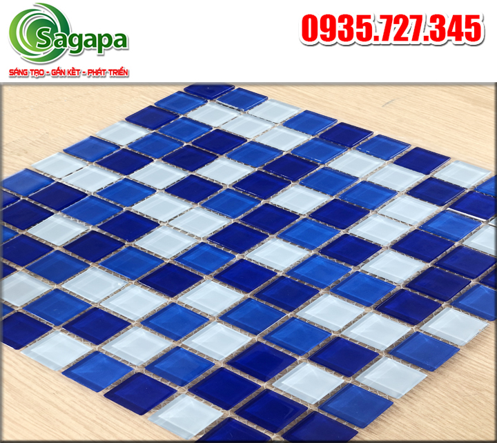 Gạch mosaic hồ bơi loại 1 - Sagapa.vn