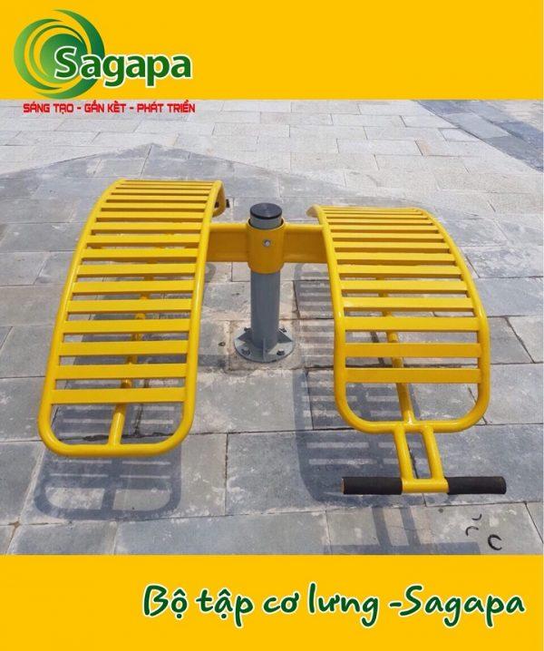 Bộ tập cơ lưng Sagapa