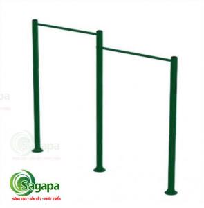 Bộ xà đơn 2 - Dụng cụ thể thao ngoài trời cao cấp Sagapa