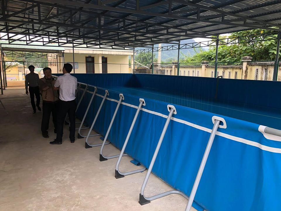 hồ bơi lắp ráp trường học