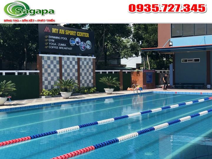 Dịch vụ xử lý nước Hồ bơi Đà Nẵng- Bể bơi Mỹ An Sport