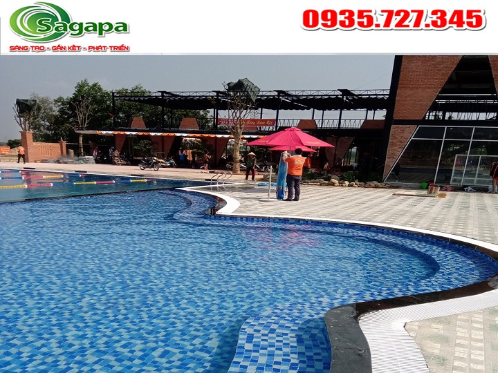 Dịch vụ xử lý nước bể bơi chuyên nghiệp tại Sagapavn