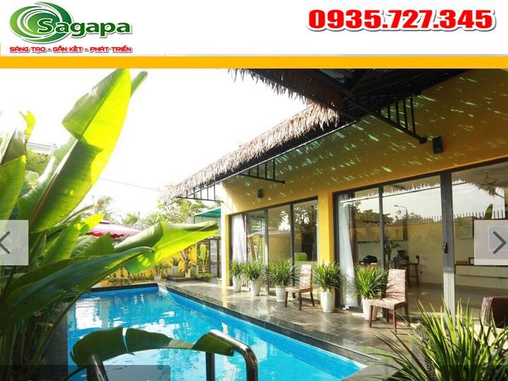 Dịch vụ xử lý nước Hồ bơi Đà Nẵng- Bể bơi Villa khách sạn