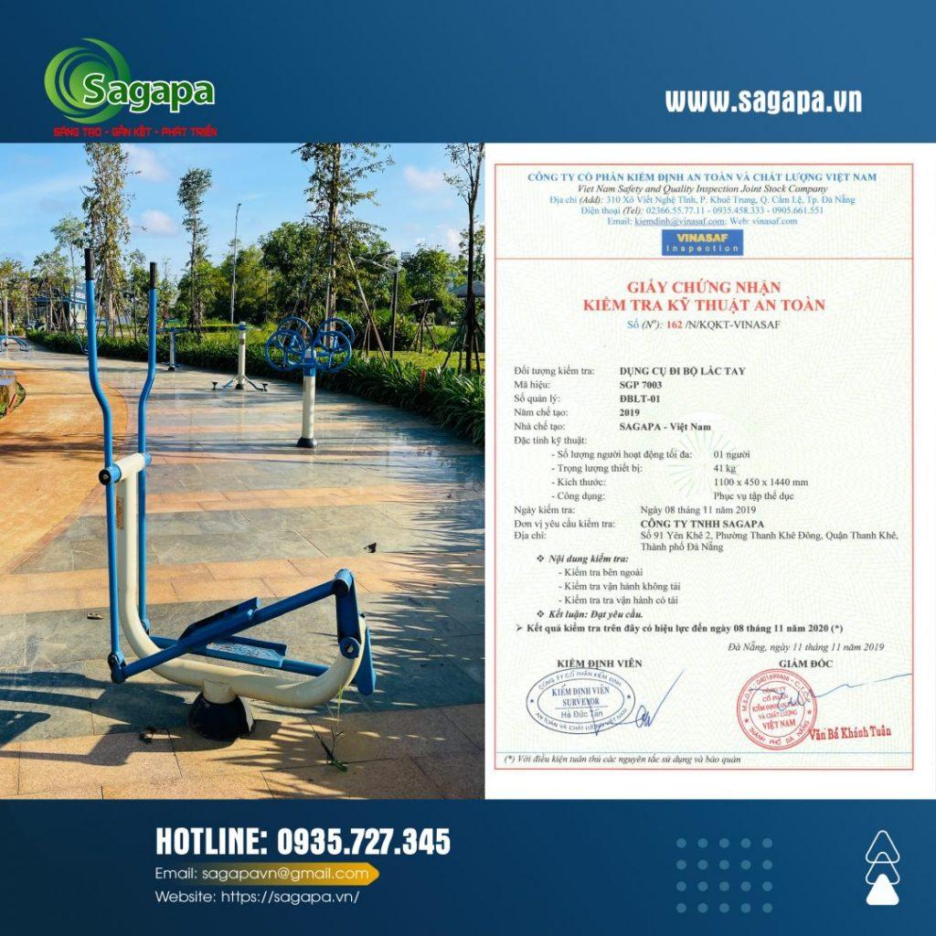 Thiết bị thể thao ngoài công viên   Sagapa VN