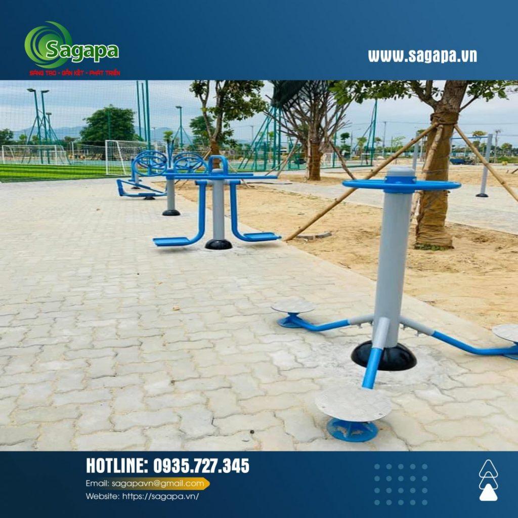 Sản xuất thiết bị thể thao công viên miền trung
