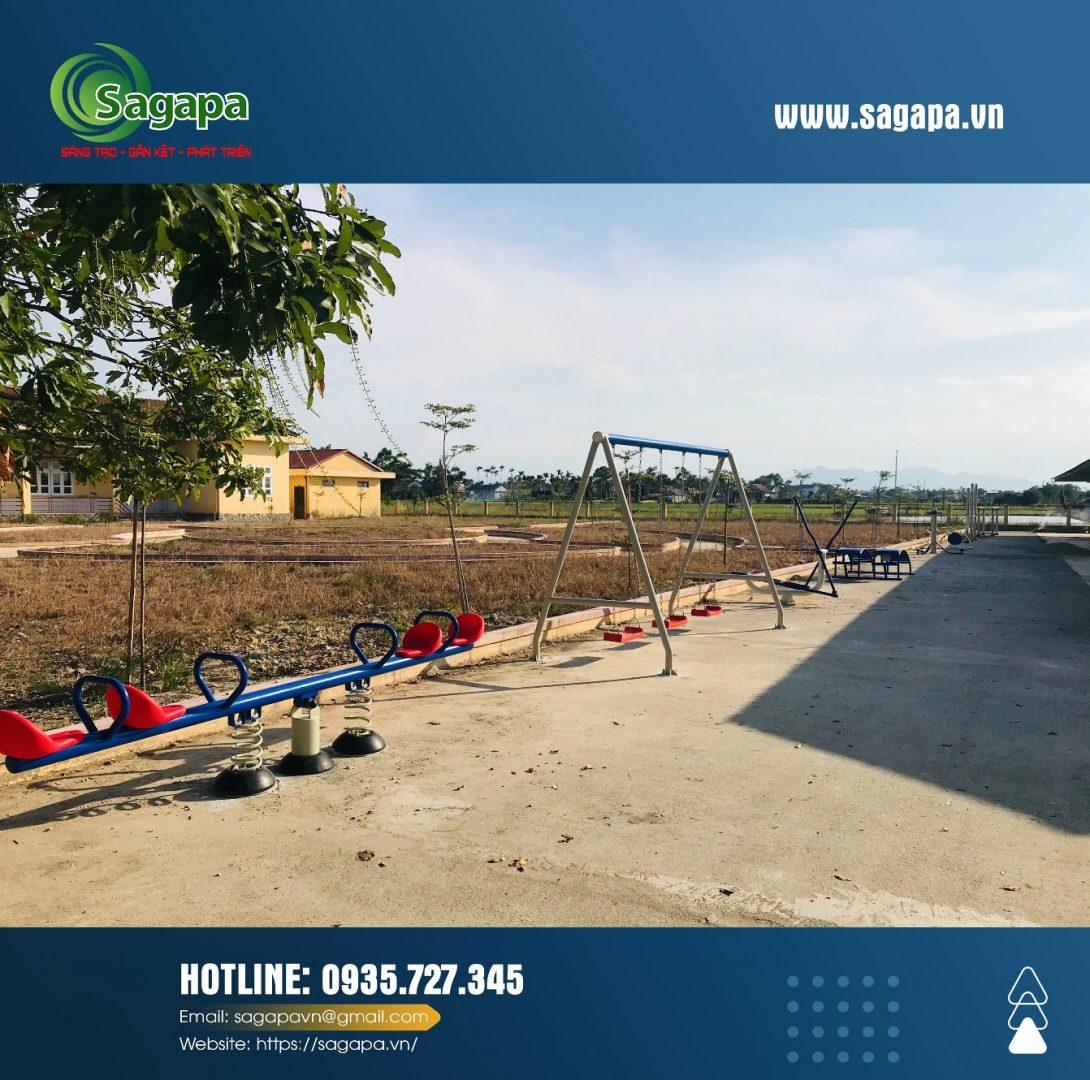 Lắp đặt dụng cụ thể thao ngoài trời tại Quảng Điền - TT Huế