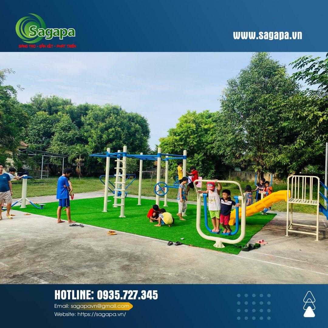 Dụng cụ tập thể dục trường học | Sagapa Việt Nam